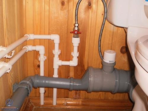 Как провести канализационные трубы в частном доме своими руками