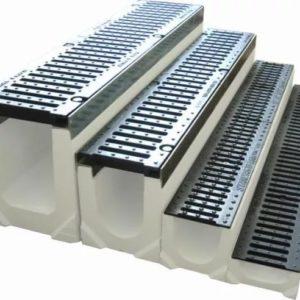 Лотки для ливневой канализации: устройство, виды, особенности монтажа