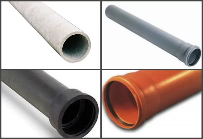 материалы труб для ливневой канализации