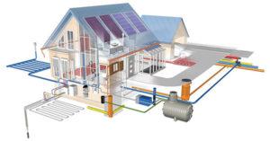 Схема наружной канализации в частном доме