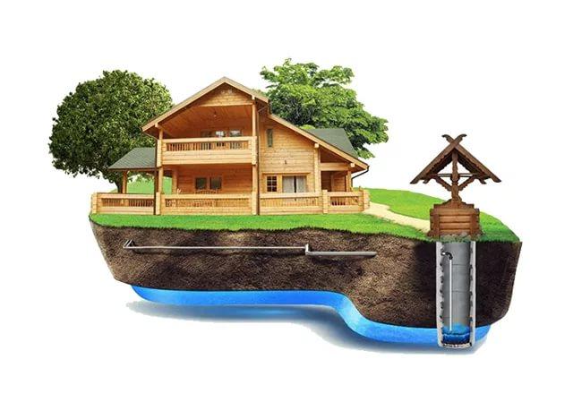 наружные сети водоснабжения - колодец