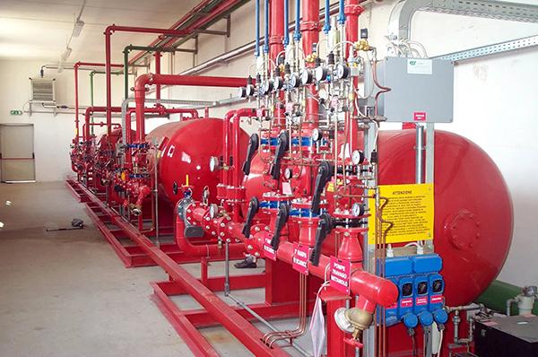 системы противопожарного водоснабжения