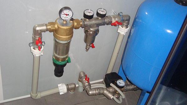 Элементы схемы водоснабжения
