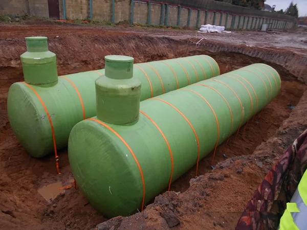 Емкость ливневой канализации