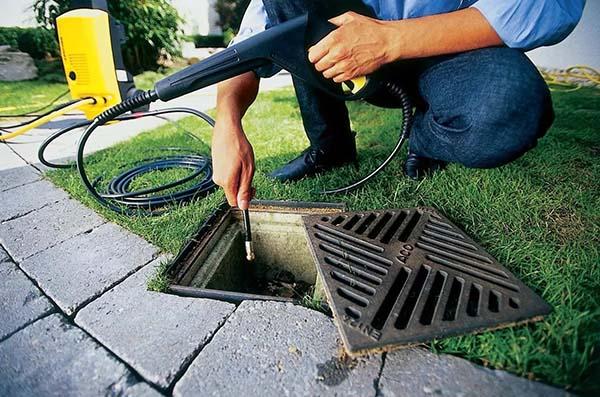 Очистка ливневой канализации