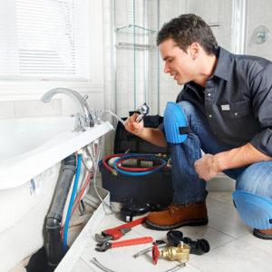 Процесс ремонта сетей водоснабжения