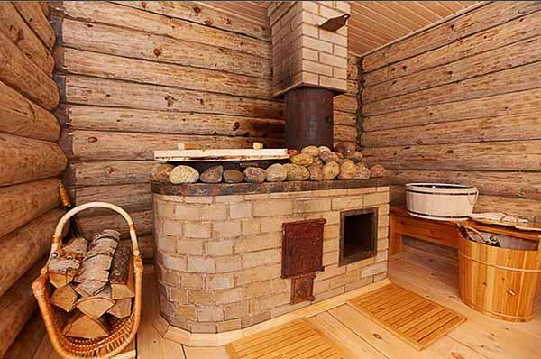 печка в русской бане
