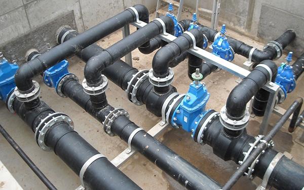 Технологическое подключение к водопроводным сетям