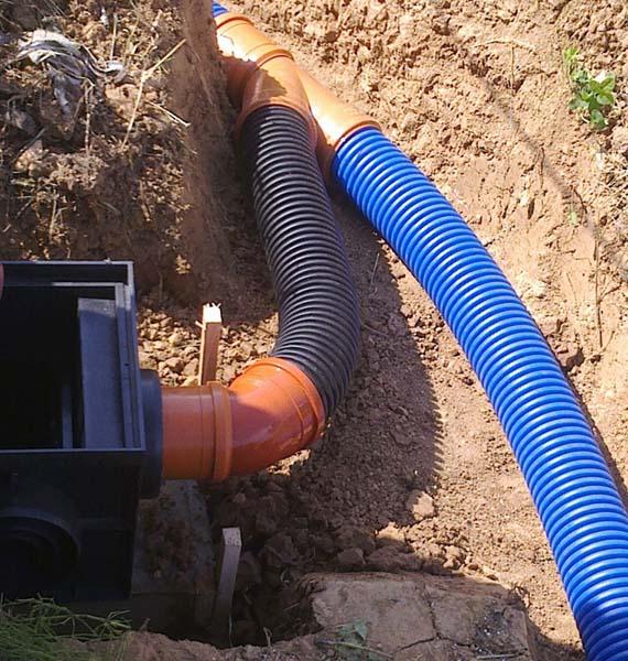Пластиковая ливневая канализация