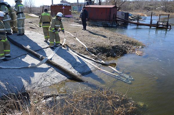 Противопожарные источники воды