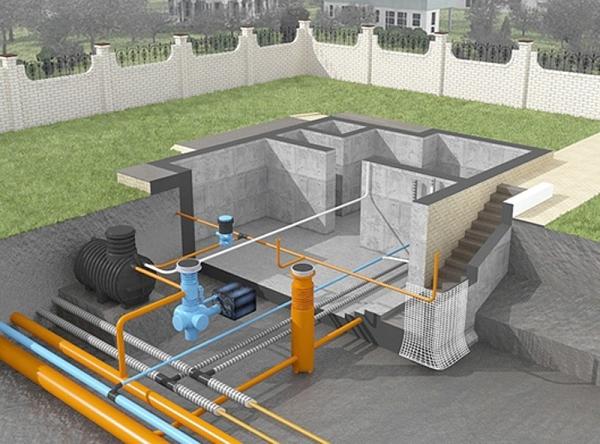 Проект канализационной системы