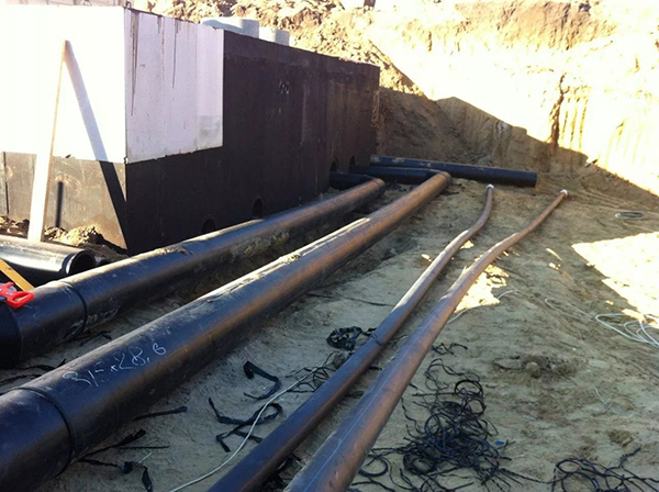 Прокладка сетей водоснабжения