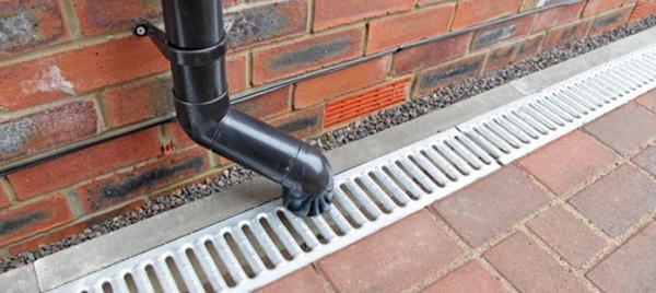 уклон ливневой канализации
