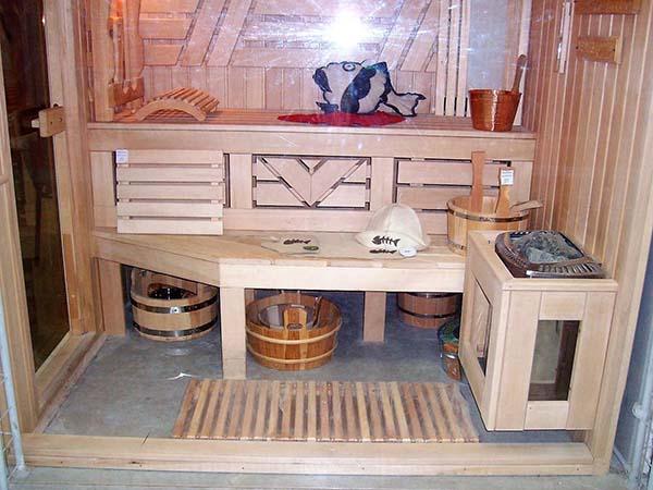 классическая баня