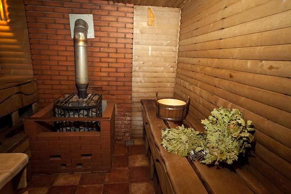 классическая русская баня