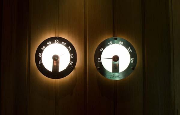 термометры в парильне