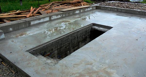 бетонный подвал