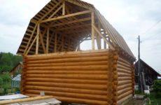 Двухскатная крыша устройство и особенности