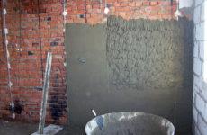 Штукатурка стен — описание процесса и инструкция