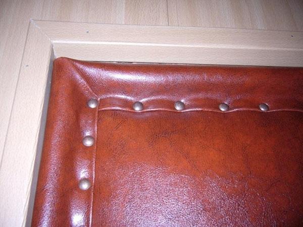 обшивка на металлической двери