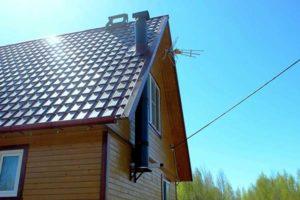 Дымоход для бани: обзор популярных конструкций