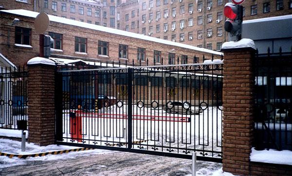 автоматизированные ворота