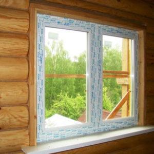 Установка пластиковых окон в деревянном доме: процесс и особенности