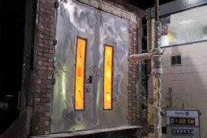 Противопожарные двери: устройство и виды
