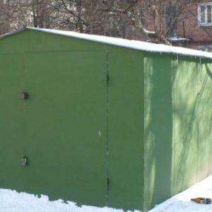 Металлический гараж: достоинства и недостатки