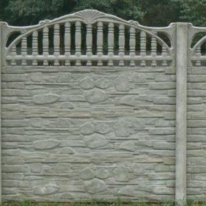 Бетонный забор: виды, материалы, преимущества и недостатки
