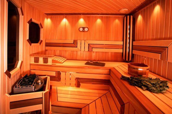 Интерьер бани: выбираем материал и оформление