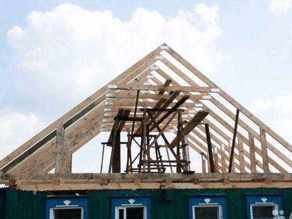 Стропила крыши: какими должны быть, выбор и монтаж