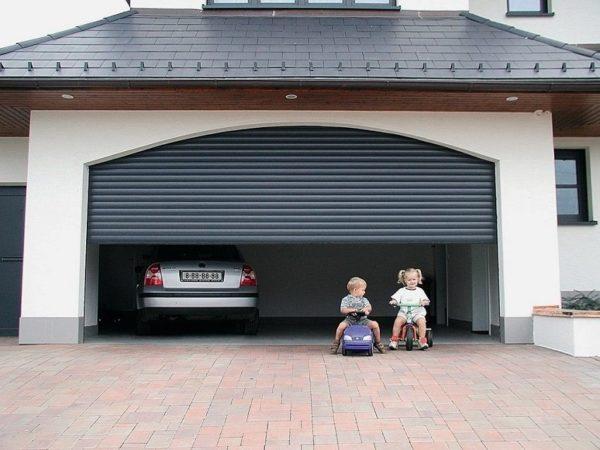 Подъемный гараж: строим своими руками