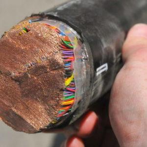 Телефонный кабель для прокладки на улице. Как выбрать